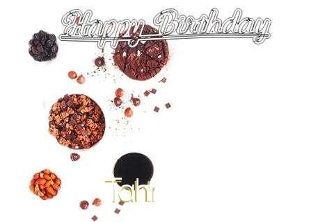 Happy Birthday Wishes for Tahir