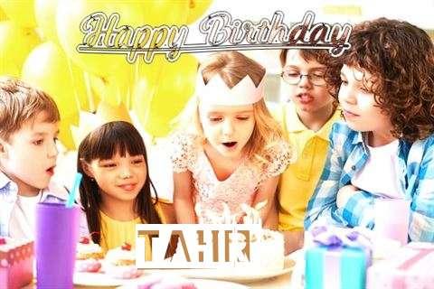 Happy Birthday to You Tahir