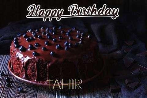 Happy Birthday Cake for Tahir