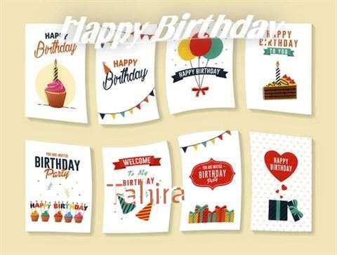 Happy Birthday Cake for Tahira