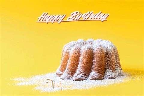Happy Birthday Tahirah