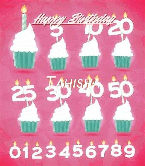Birthday Wishes with Images of Tahisha