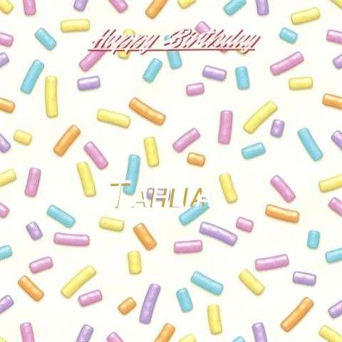 Happy Birthday Tahlia