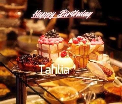 Happy Birthday Wishes for Tahlia