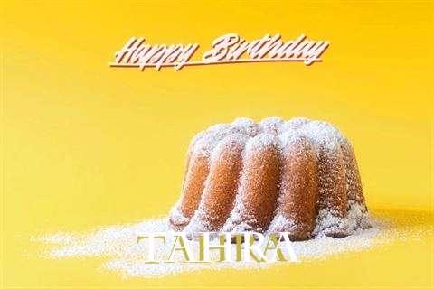 Happy Birthday Tahra Cake Image