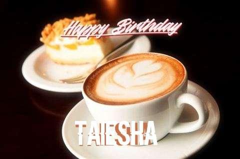 Happy Birthday Taiesha Cake Image