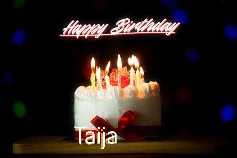 Happy Birthday Taija