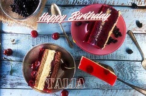 Happy Birthday Wishes for Taija