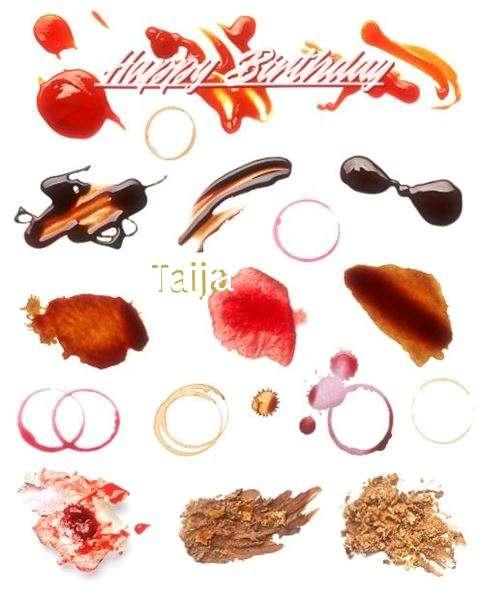 Happy Birthday Cake for Taija
