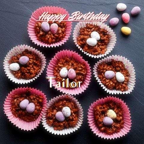 Happy Birthday Tailor Cake Image
