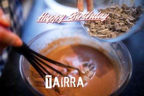 Happy Birthday Tairra Cake Image