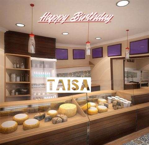 Happy Birthday Taisa Cake Image