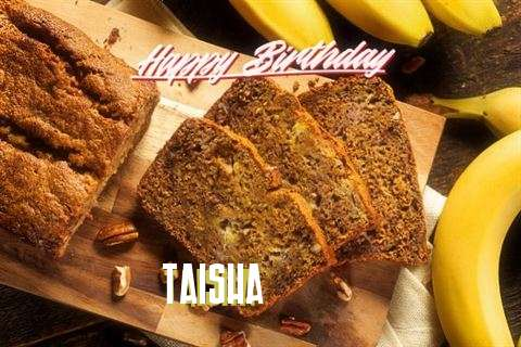 Happy Birthday Taisha Cake Image