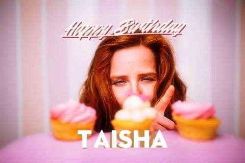Happy Birthday Wishes for Taisha
