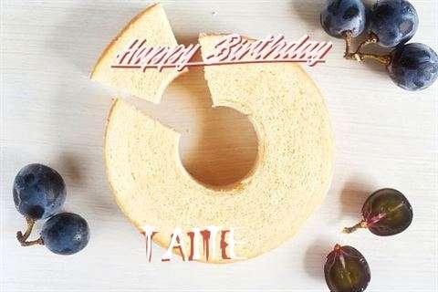 Happy Birthday Taite Cake Image