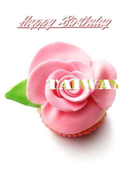 Happy Birthday Taiwan