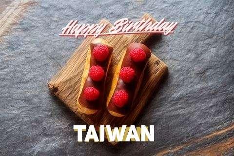 Happy Birthday to You Taiwan