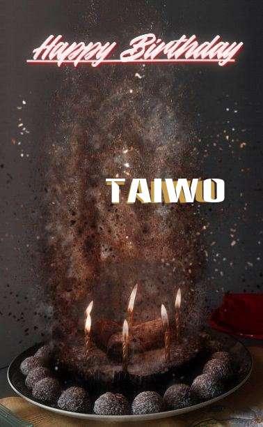 Happy Birthday Cake for Taiwo