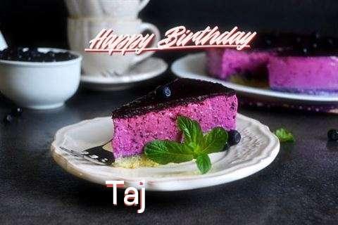 Taj Birthday Celebration