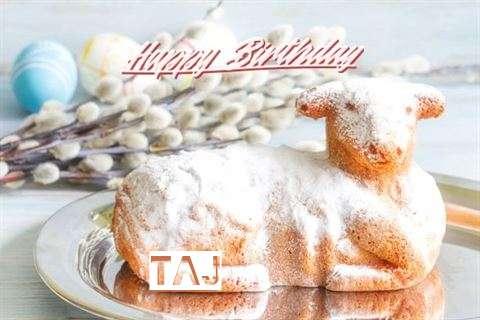 Happy Birthday to You Taj