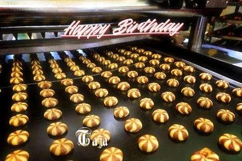 Happy Birthday Cake for Taja
