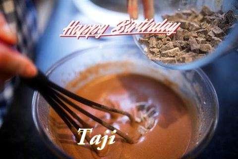 Happy Birthday Taji Cake Image