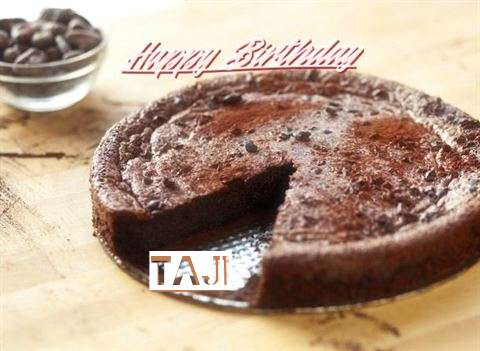 Happy Birthday Cake for Taji