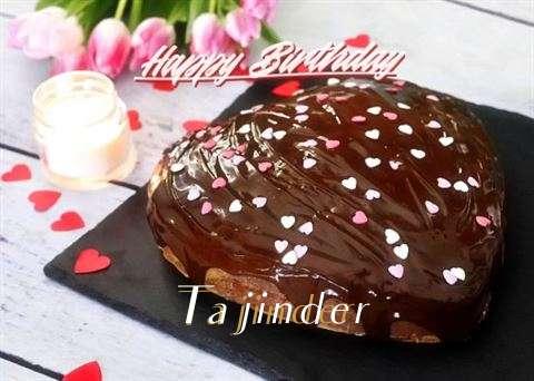 Happy Birthday Cake for Tajinder