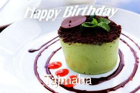 Happy Birthday to You Tajmaha