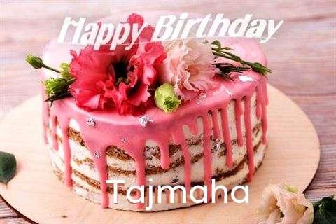 Happy Birthday Cake for Tajmaha