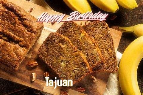 Happy Birthday Tajuan Cake Image