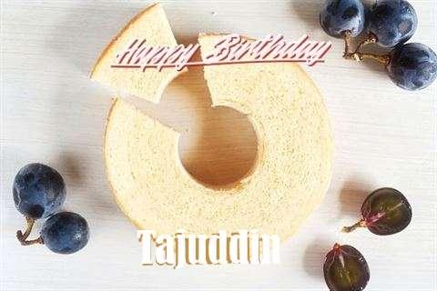 Happy Birthday Tajuddin Cake Image