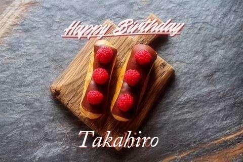 Happy Birthday to You Takahiro