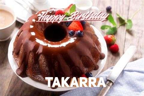 Happy Birthday Takarra Cake Image