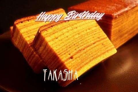 Takasha Birthday Celebration