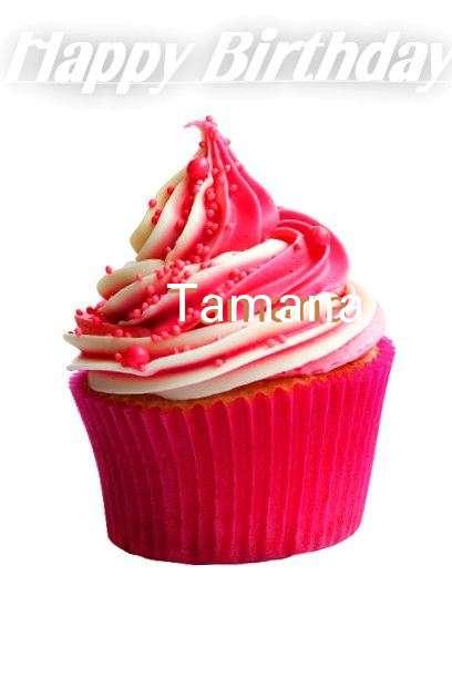 Happy Birthday Cake for Tamana