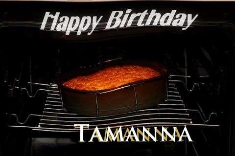 Happy Birthday Tamanna Cake Image