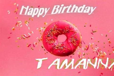 Happy Birthday Cake for Tamanna