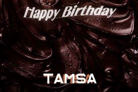 Happy Birthday Tamsa Cake Image