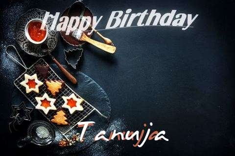 Happy Birthday Tanuja Cake Image