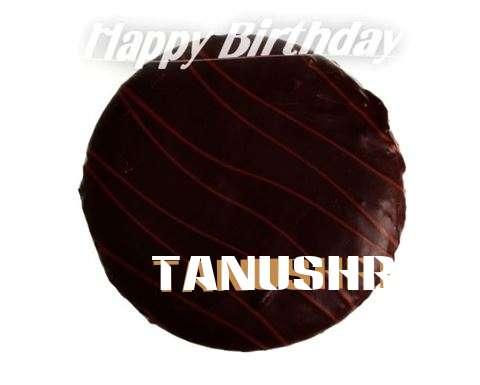 Birthday Wishes with Images of Tanushri