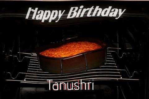 Happy Birthday Tanushri Cake Image