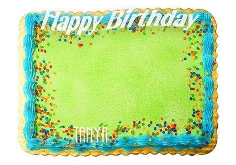Happy Birthday Tanya Cake Image