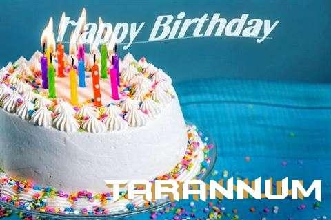 Happy Birthday Wishes for Tarannum