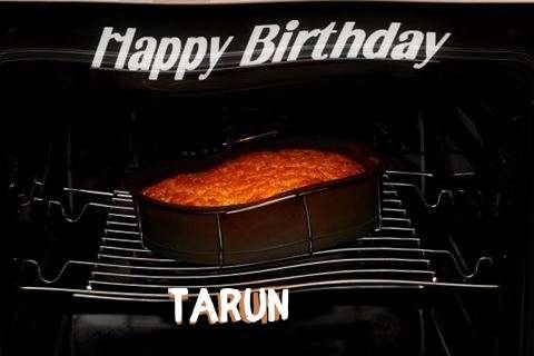 Happy Birthday Tarun Cake Image