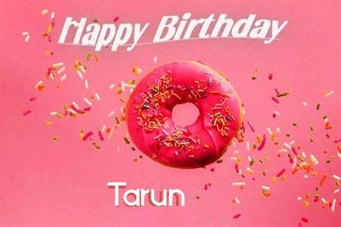 Happy Birthday Cake for Tarun