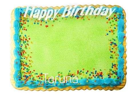 Happy Birthday Taruna Cake Image
