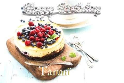 Happy Birthday Taruni