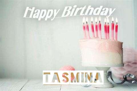Happy Birthday Tasmina Cake Image