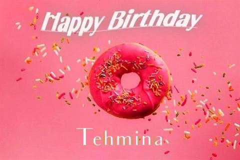 Happy Birthday Cake for Tehmina